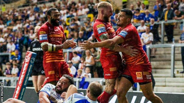 Catalans Dragons have lost just once in Super League so far this season - winning 11 of 12 games