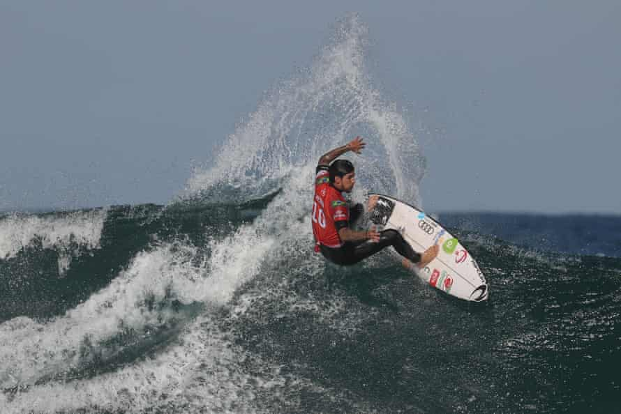 Gabriel Medina is top of the World Surf League standings