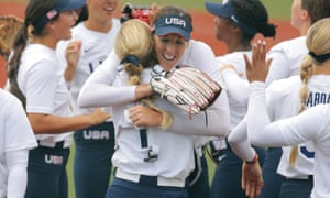 USA's softball team have got off to a strong start in Japan