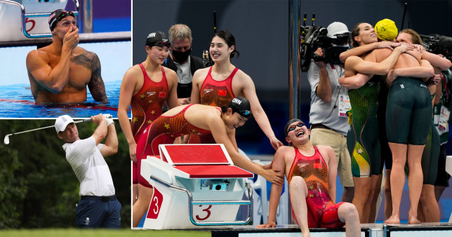Tokyo Olympics Day 6, what you missed overnight: Records tumble in the pool but no medals for Team GB