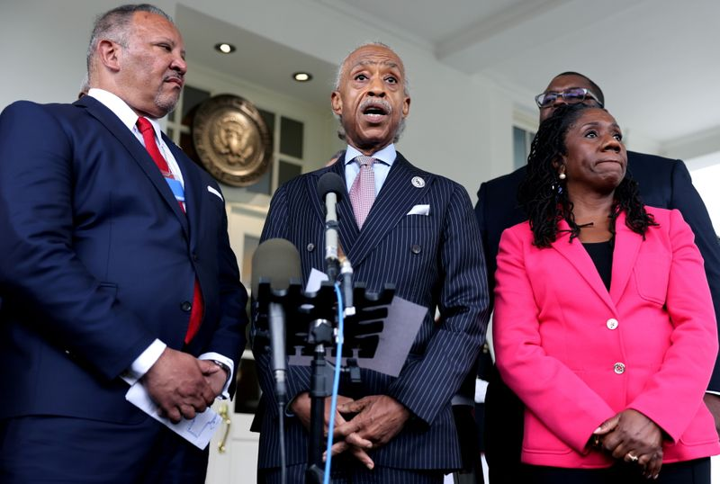 U.S. civil rights leaders vow to keep up fight for voting rights