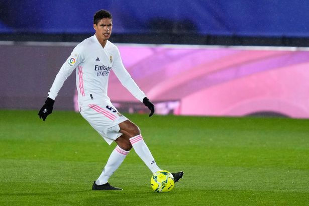 Real Madrid star Raphael Varane has often been linked with a move to Man Utd