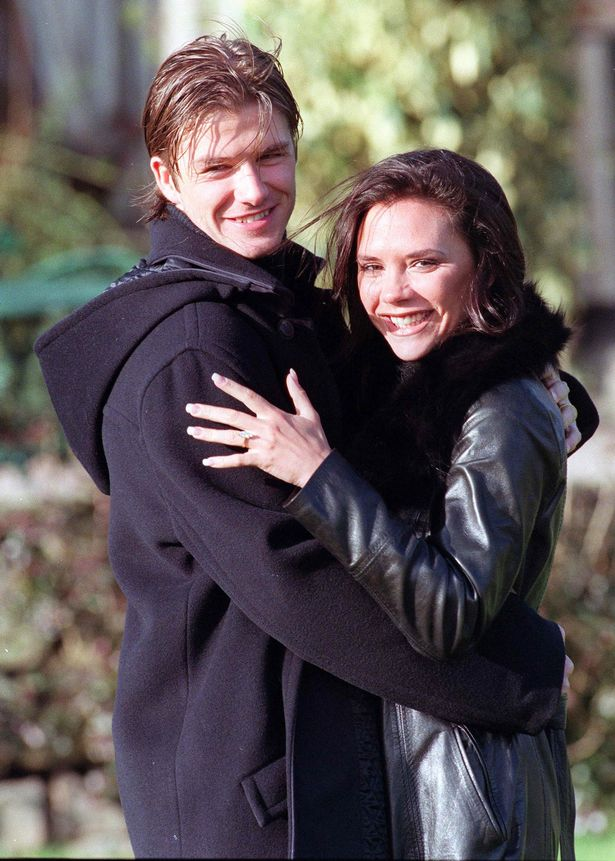 David and Victoria married in 1999 - two years after starting their romance