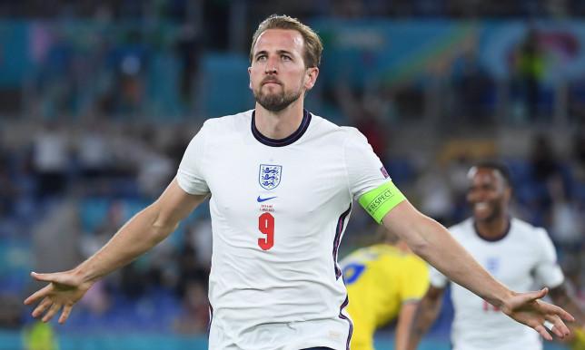 Harry Kane during Euro 2020 quarter final