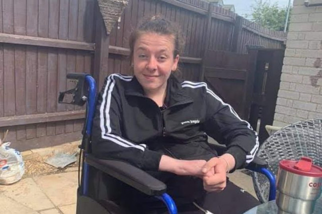 A young woman has had to learn to walk and talk again after suffering a stroke at the age of just 23. Chantelle Blakeman, from Cambridge, has been recovering in hospital for nearly four months now after a stroke forced her to give up her independence. She has had to give up her own flat as she will now require full-time care when she is discharged from hospital. Chantelle's mum has exhausted all of her savings travelling back and forth to visit her in the hospital and is set become her full-time carer, meaning she has had no choice but to give up her job as a result.