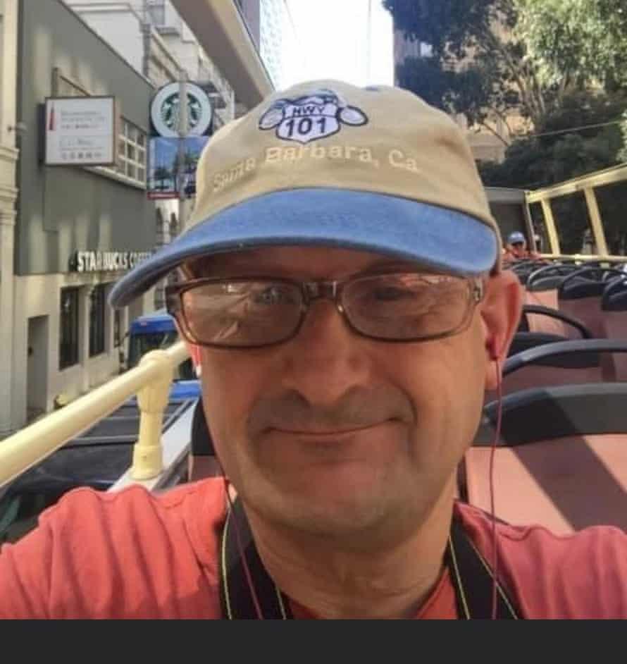Phil Harris, 54, works in tourism, Horsham