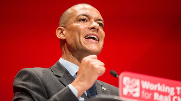 Shadow Minister for Sustainable Economics Clive Lewis