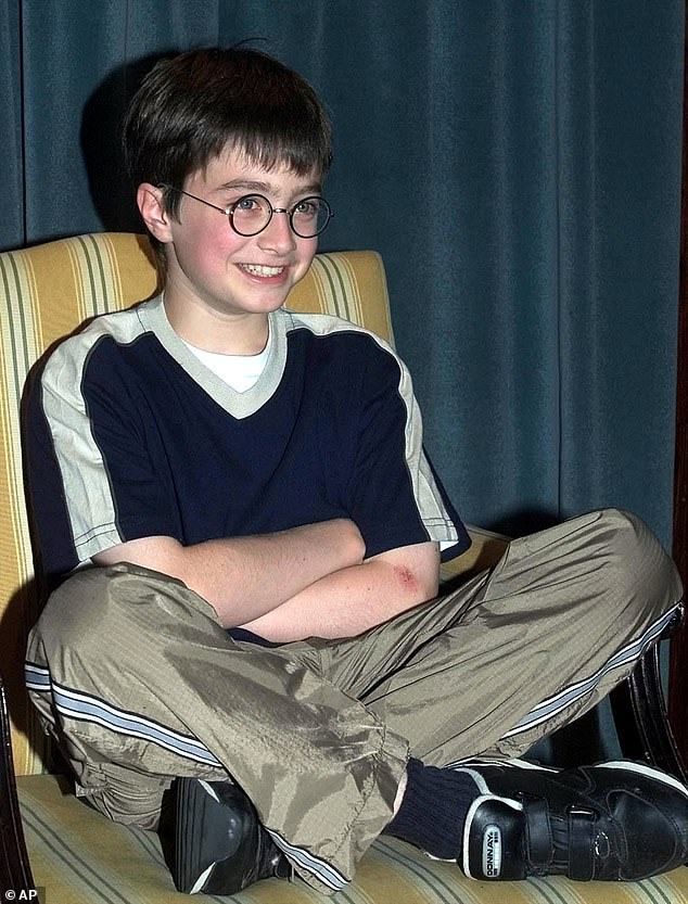 Child actor: The Harry Potter star, who has recently turned 32, shot to worldwide fame in acclaimed film franchise at the tender age of 11 - and has forged a successful film career since; pictured in 2000