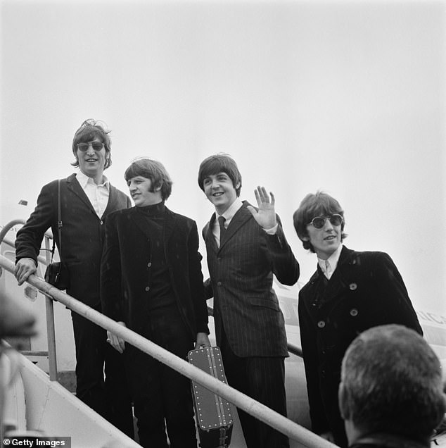 Coming soon:Meanwhile, the band are set to soar to the limelight once again later this year, as director Peter Jackson releases his long-awaited three-part documentary series called The Beatles: Get Back