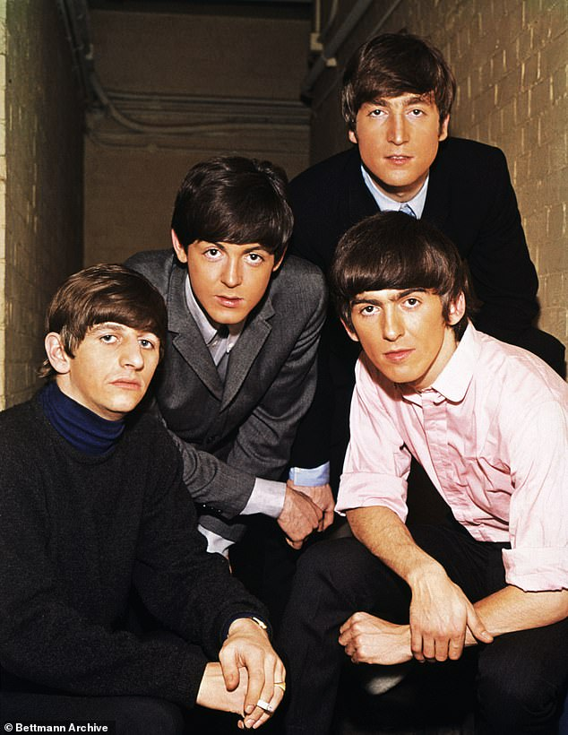 Legends: The Beatles - Ringo Starr, John Lennon, Paul McCartney and George Harrison - formed in Liverpool in the United Kingdom back in 1960