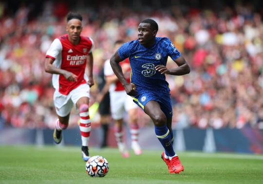 Kurt Zouma got his first-pre-season minutes on Sunday as Chelsea beat Arsenal