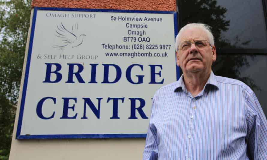 Michael Gallagher's son Aiden died in the atrocity