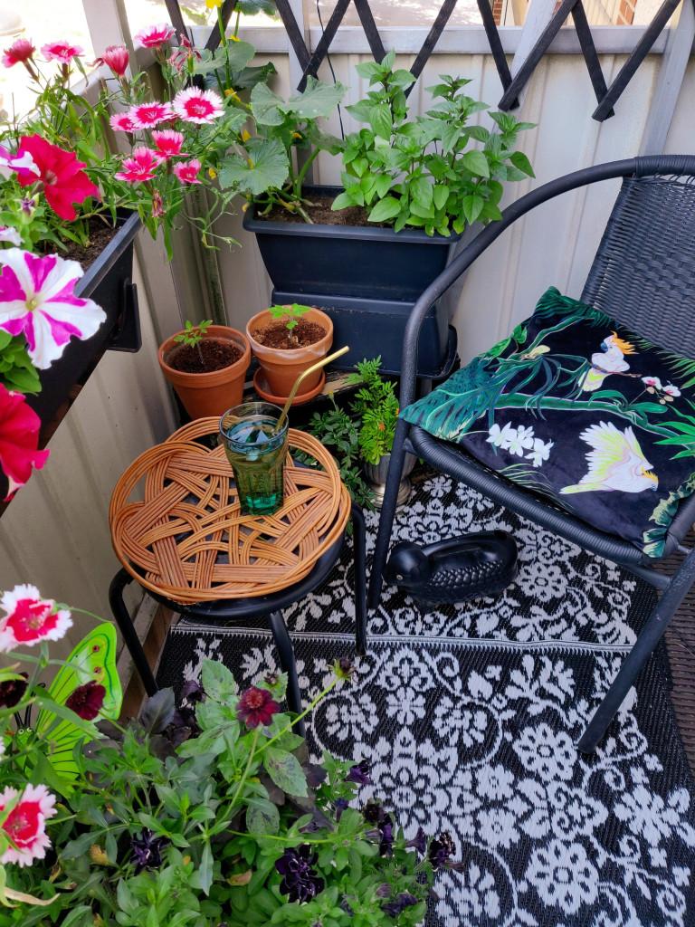 What I Rent: Henna, Finland - balcony