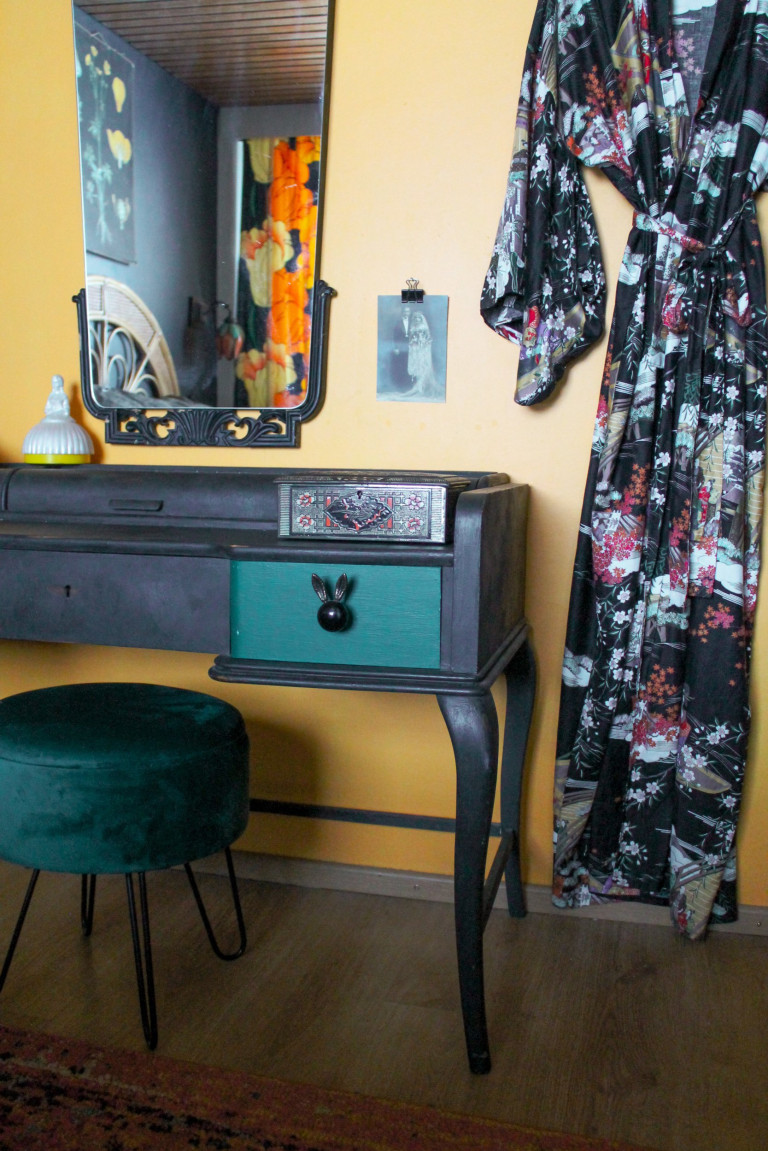 What I Rent: Henna, Finland - cabinet and vanity in bedroom