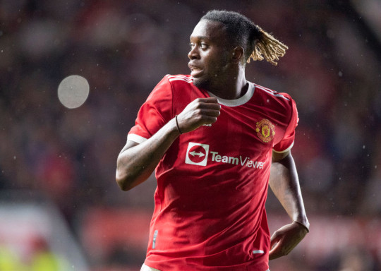 Manhcester United are also sweating on the fitness of Aaron Wan-Bissaka