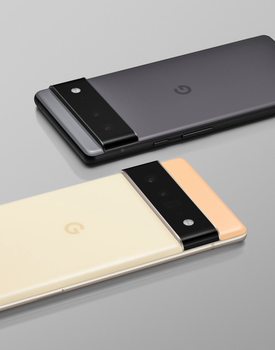 There will be two variants - a regular Pixel 6 and the Pixel 6 Pro model seen above (Google)