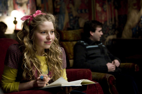 Jessie Cave as Lavender Brown in Harry Potter and the Half-Blood Prince