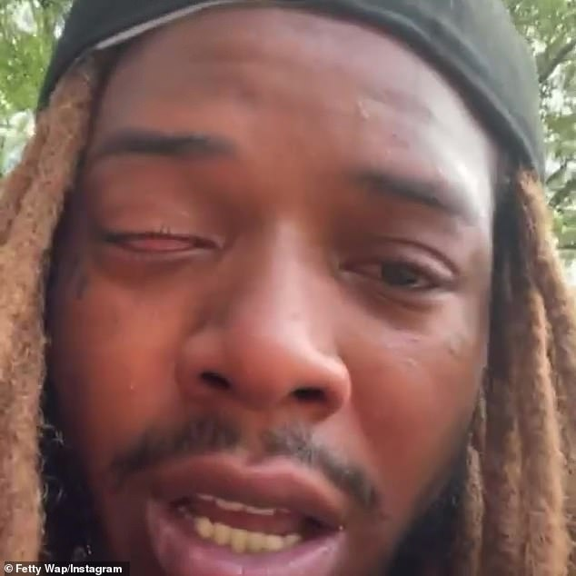 'Daddy did that s*** for you': Fetty dedicated his performance at Miami's Rolling Loud to Laurent last month