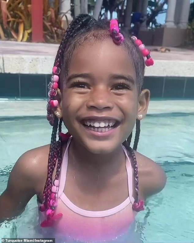 'Souls can feel your love': Turquoise Miami, Fetty Wap's baby mama, posted this picture of their daughter Lauren who died earlier this week though no cause has come out as of yet