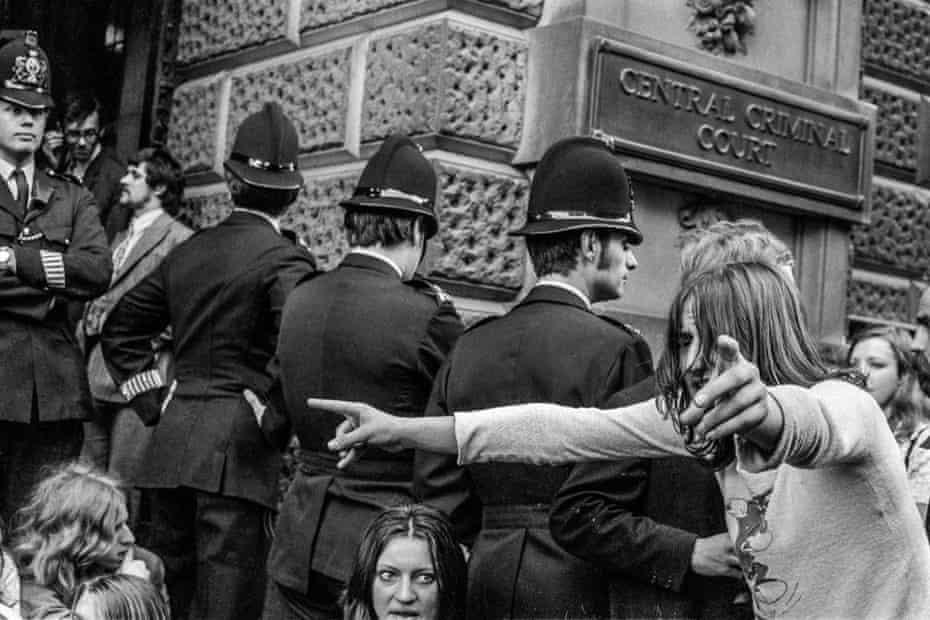 The summer that killed London's hippie dream … the Oz trial at the Old Bailey, London, 1971.