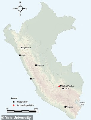 The study found the site was in use from 1420 to 1530 – ending around the time of the Spanish invasion of the Inca Empire