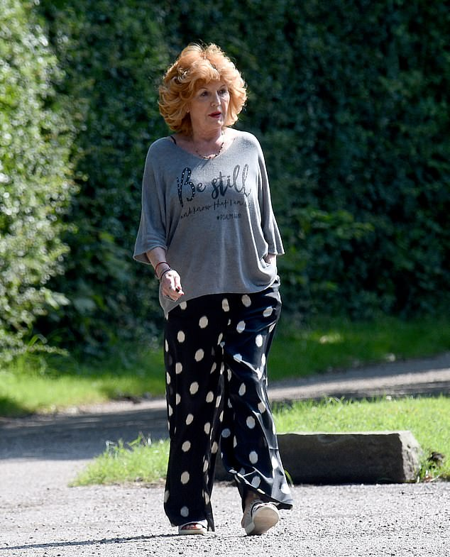 Decisions: In April, Claudiadecided to stay at Stillwaters' retirement village despite Ken returning back to Weatherfield