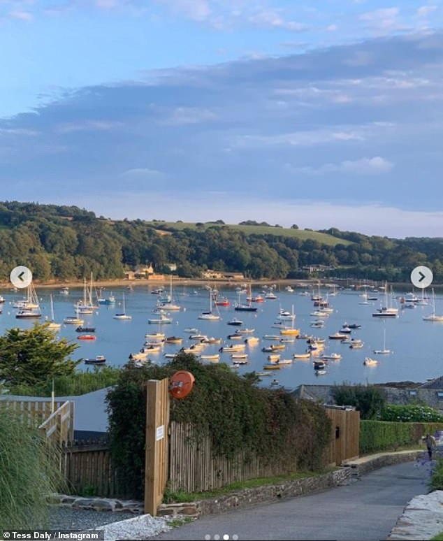 Scenic: The star said she would miss the Cornish view