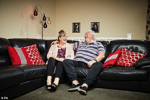 Sad news: Paige's exit comes at a turbulent time for 'Gogglebox' which has seen several of their TV 'experts' leave whilst there has also been a number of sad bereavements, includingPete McGarry who died aged 71 in June (pictured with his wife Linda)