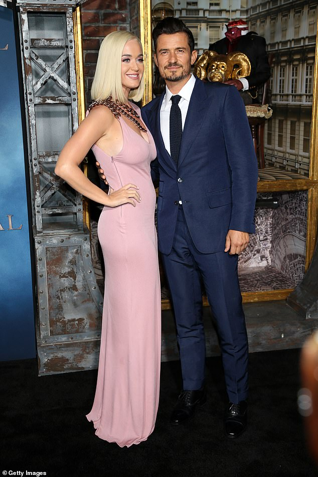Going strong: Bloom and Perry first began dating in 2016 before parting ways, only to rekindle their romance in 2018; they would go on to announce their engagement in February 2019