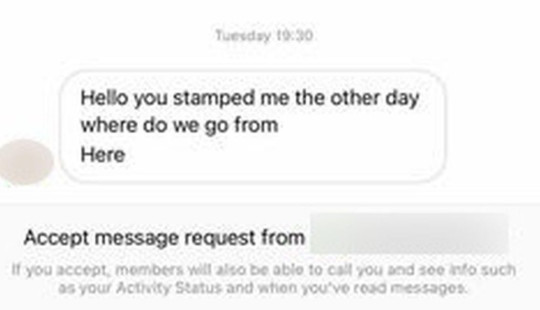 message sent to taylah munro