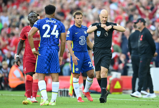 Thomas Tuchel and Cesar Azpilicueta criticise referee over Chelsea's 'harsh' red card vs Liverpool