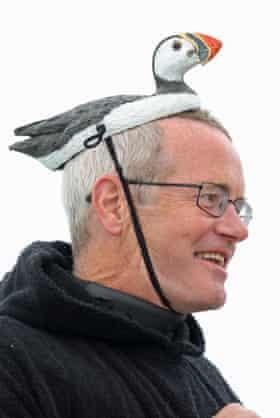 Puffin decoy hat