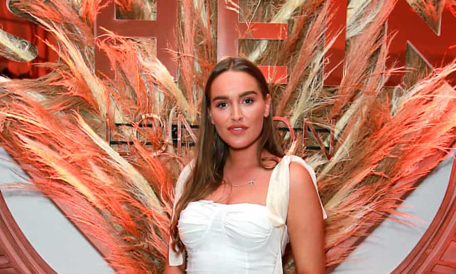 Chloe Ross at a Shein event in London.