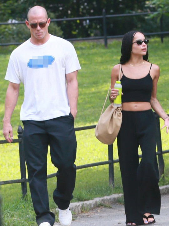 Channing Tatum and Zoe Kravitz