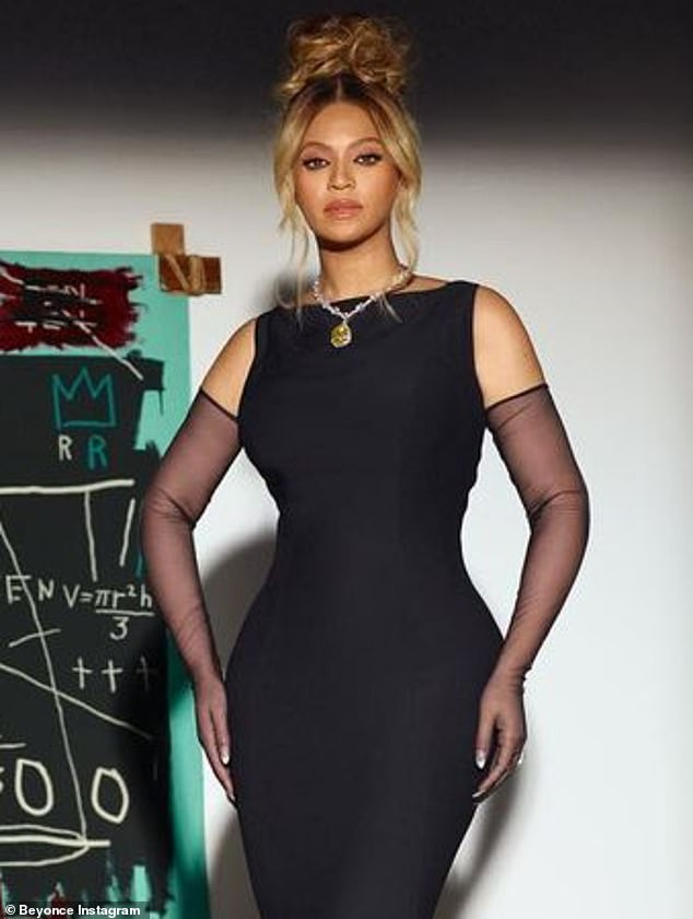 Unwitting:Beyonce was left 'disappointed and angry' after unknowingly wearing $30M Tiffany 'blood diamond' in a new campaign for the jewelers