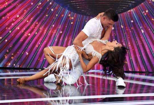 Janette Manrara and Aljaž Škorjanec on Strictly Come Dancing