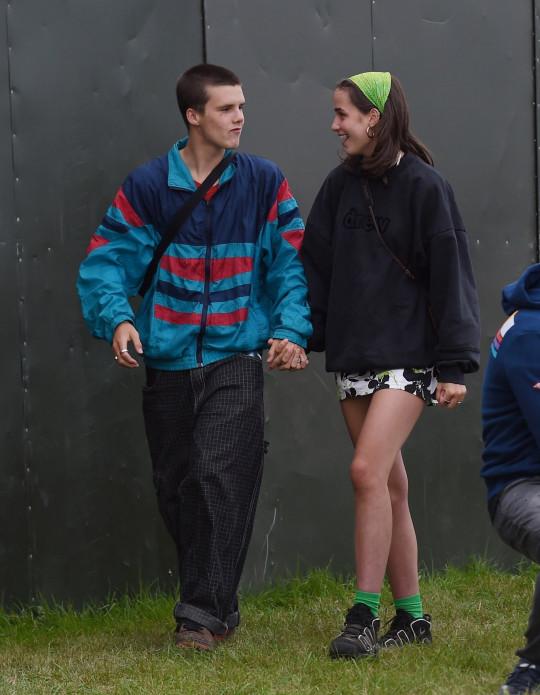 Cruz Beckham with new girlfriend