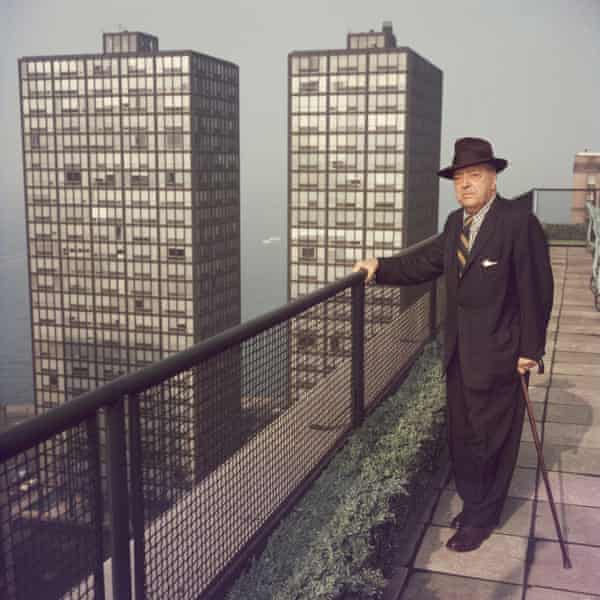 'I simply cannot take those difficulties into account' … Mies van der Rohe in Chicago in 1960.