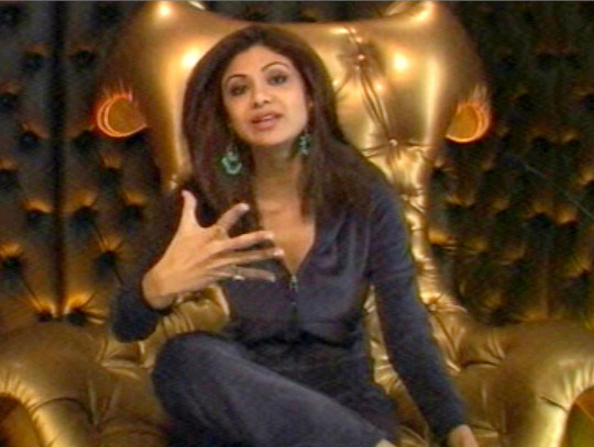 Mandatory Credit: Photo by REX/Shutterstock (633649b) Shilpa Shetty in the diary room, telling Big Brother that she does not believe that Jade Goody's behaviour towards her has been racist. 'Celebrity Big Brother' TV Programme, Britain - 18 Jan 2007