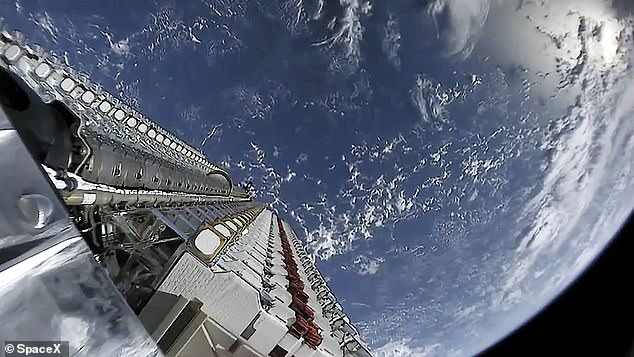 He noticed occasional outages from the internet service, which relies on signals beamed from hundreds of satellites in low Earth orbit to a small dish on his roof