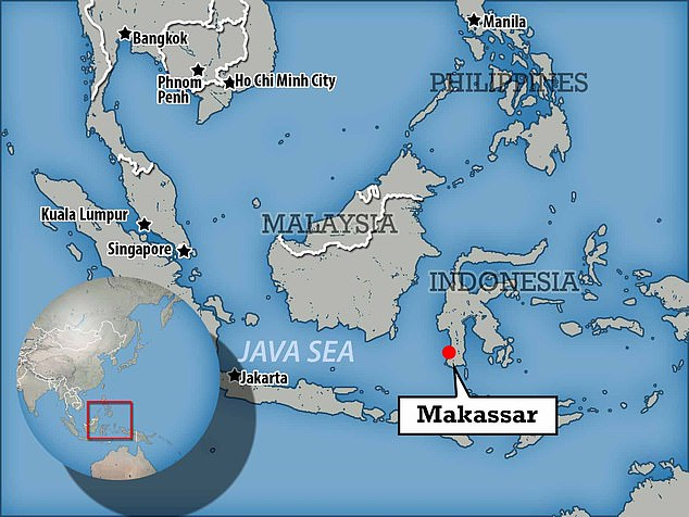The accident happened in Makassar, Indonesia. It was reported in Urology Case Reports