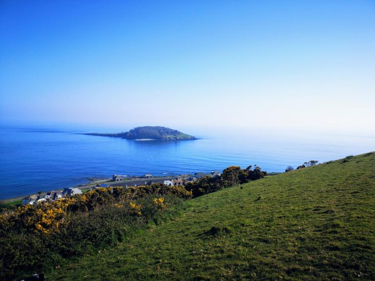 Best nature reserves Beautiful shot of Looe Island
