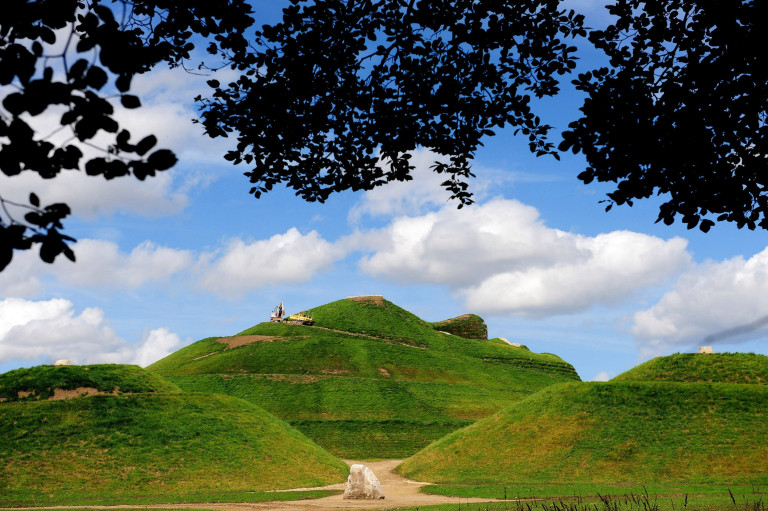 Best nature reserves A view of Northumberlandia, a 1,300ft-long reclining woman which is the worldÕs largest human form sculpted into the landscape on land , outside Cramlington, Northumberland, which is to open to the public next month.