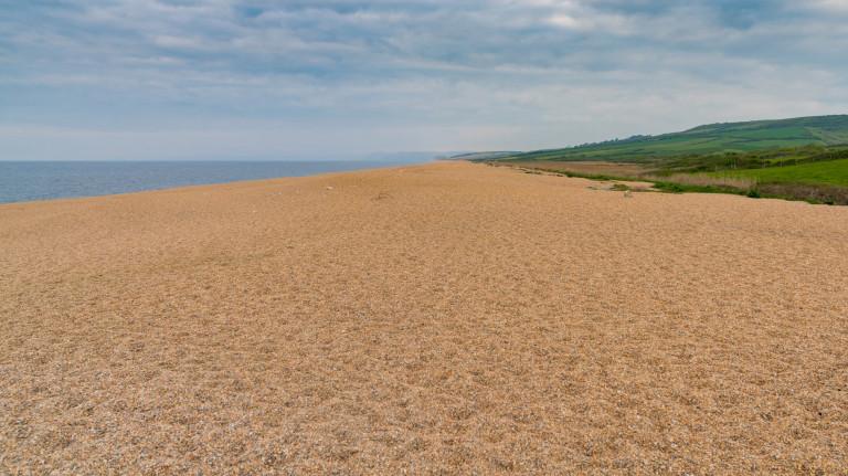 Best nature reserves Evening mood at West Bexington Beach, Jurassic Coast, Dorset, UK