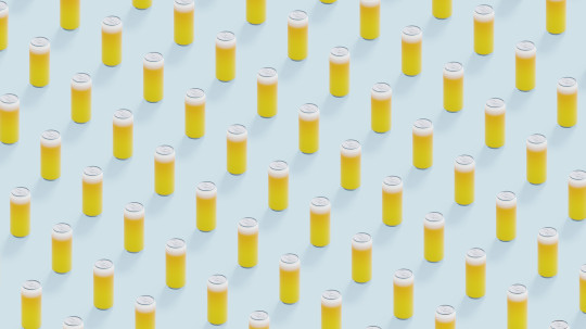 Beer can seamless pattern background