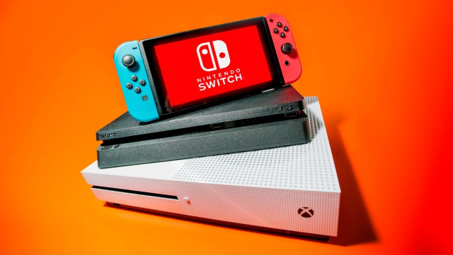PS4, Xbox One, and Nintendo Switch