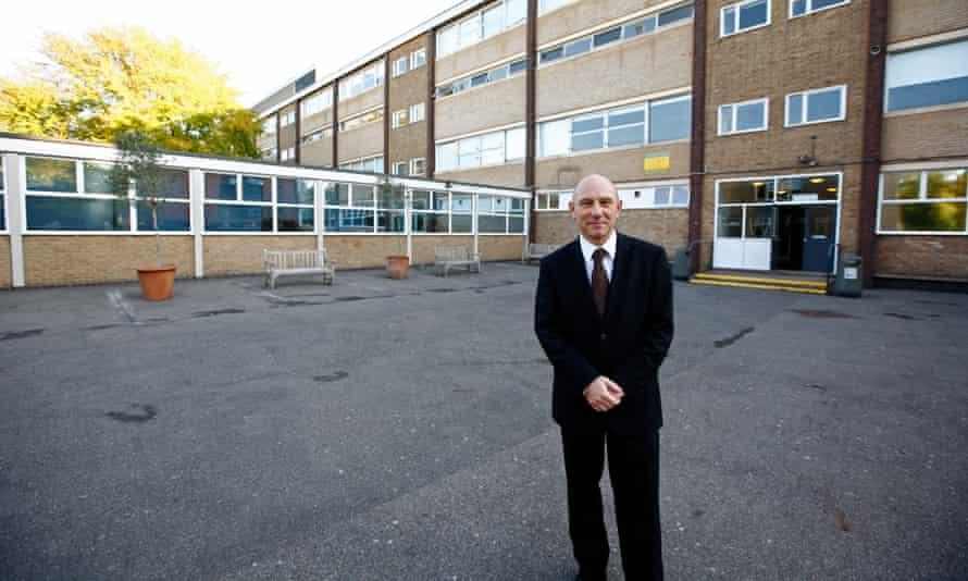 Colin Hall, headteacher at Holland Park school, in 2012