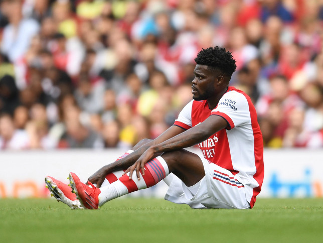 Arsenal tweak transfer plans after receiving Thomas Partey injury diagnosis