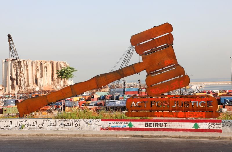 Beirut marks one year since port blast with anger and prayers