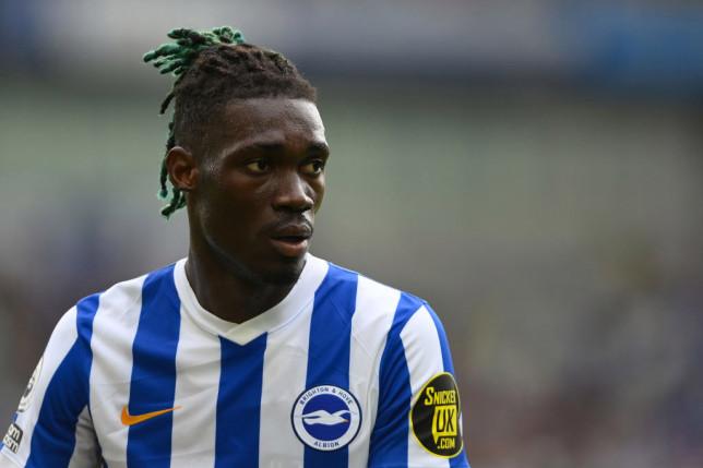 Yves Bissouma has become a key player for Brighton.